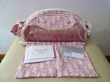 Christian Dior Pink Coated Canvas and Vinyl Diorissmo Handbag