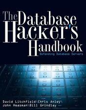 WILEY - The Database Hacker's Handbook: Defending Database Servers
