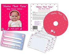 Baby Shower Party Games -  NAME THAT TUNE  -  audio game - FREE POSTAGE