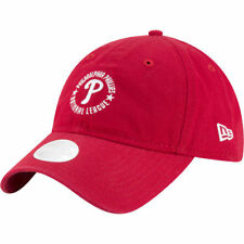 reputable site af7a1 17b4d Philadelphia Phillies New Era MLB Women s Team Ace Red Cap Hat Strapback  Ladies