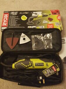 BNIB Ryobi RMT200-S Multi Tool, 2000W, Electric + Carry Case + Accessories
