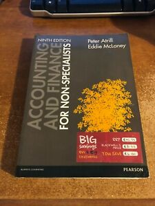 Accounting and Finance for Non-Specialists 9th Ed Peter Atrill & Eddie McLane