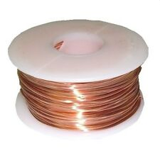 COPPER WIRE (DEAD SOFT) 18 GA 1 LB.  SPOOL 200 FT. GENUINE SOLID  COPPER