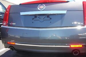 Cadillac CTS Rear Chrome Trunk Trim Molding 2008-2011