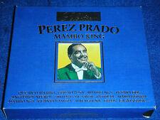 2 CD collection selection PEREZ PRADO mambo king  DCD-830 BLU 1999 promo sound