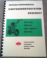 E 930 931 Reparaturhandbuch Fortschritt E930 E931 ZT303 Belarus IFA