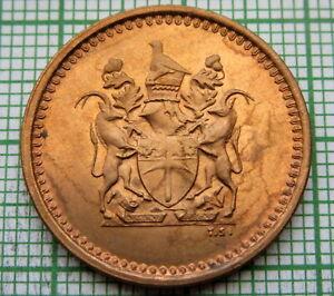 RHODESIA 1976 1 CENT, UNC