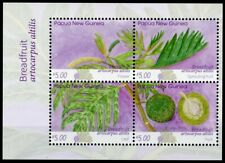 More details for papua new guinea png fruits stamps 2020 mnh breadfruit plants nature 4v m/s