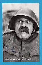 Alfred Rasser - HD-Soldat Läppli - Schweizer Kabarettist u.Schauspieler - 11773