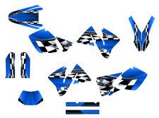 2001 2002 KTM EXC 125 250 450 525 graphics sticker kit NO2500 Blue