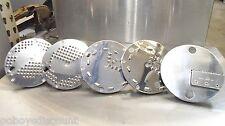 (5) Waring FP25 Shredding Grating Julienne Food Processor Disk BFP33 BFP21 BFP29