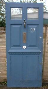"""Vintage front door 83 1/4"""" x 35 3/4"""""""