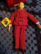 """NEW VINTAGE 1990 DICK TRACY MOVIE PRUNEFACE APPLAUSE 9"""" CHARACTER DOLL TAG"""