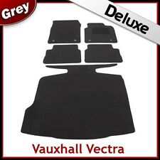 VAUXHALL VECTRA C 2002-2008 Tailored LUXURY 1300g Carpet Car and Boot Mats GREY