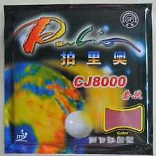 Palio CJ8000 2-Side Loop Type Pips in Table Tennis Rubber 1 Pcs Rubber 36-38°