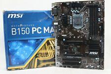 MSI B150 PC MATE ATX Motherboard [LGA 1151]  [DDR4]