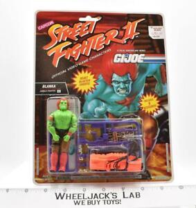 Blanka Jungle Fighter NEW MOSC 1993 Street Fighter GI Joe Hasbro Vintage Figure