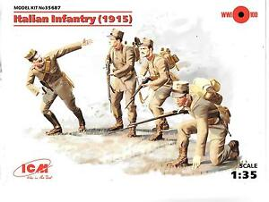 A ICM WWI Italian Infantry 1915 in 1/35 687 ST