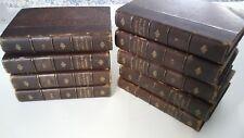 Sainte-Beuve CAUSERIES DU LUNDI TROISIEME EDITION (3RD Edition) - 9 Volumes 1877