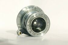Industar-22 red P 3.5/50 USSR collapsible lens KMZ M39 mount