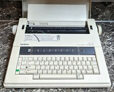 Brother Ax 15 Electric Typewriter Vintage Tested Working