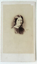 CDV PHOTO DURAND LYON Mme LAURENT DUPASQUIER PORTRAIT L433