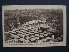 CPA  -  PARIS  - Galeries Lafayette  - Salon de Thé sur la Terrasse Monumentale