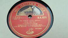 THEODORE CHALIAPINE & AFONSKY CHOIR & BALALAIKA ORCH ARISE RED SUN HMV DA1371
