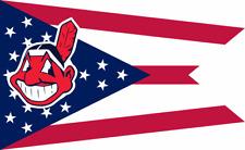 Brand New Cleveland Indians MLB Ohio State Premium Custom Flag 3 x 5