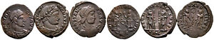 Group of 3 Roman Ae3 Folles #RB 7863