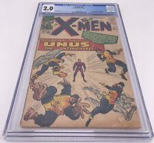 X-men 8 CGC 2.0 1st App Kang Marvel Comics Beast Cyclops Lee Book Key Vintage