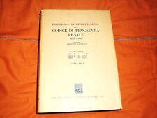 esposizione giurisprudenza codice procedura  penale libri 3°-4°- 5°  giuffrè
