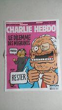 Charlie Hebdo 2 septembre 2015  n° 1206  comme neuf