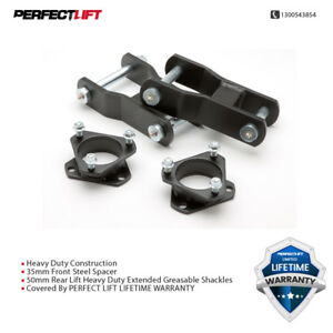 Fits Holden Colorado RG Lift Kit 2011-2016  2.5inch F & 2inch R extended shackle