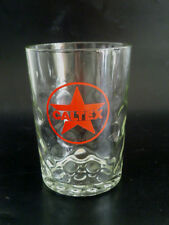 "OLD COLLECTION ! - 1 x Singapore drinking glass -  Caltex "" Red Star Logo """
