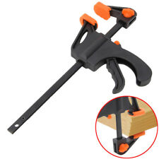 4Pcs 7.5inch Wood Working Bar F Clamp Grip Ratchet Release Squeeze DIY Hand