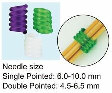Clover Coil Knitting Needle Holders (Large) - 3 pieces