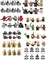 8pcs Star wars Trooper Clone Lord of the Rings  Minifigures Soldier Figure Block