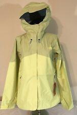 North Face Womens MEDIUM Fuseform Mission Jacket - Hamachi Yellow - NWT $199