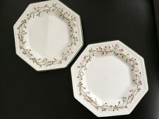 2 x Johnson Bros Eternal Beau Tea plates 15.5 cm