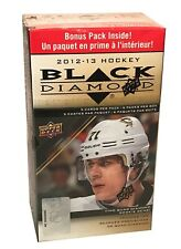 2012-13 Upper Deck Black Diamond NHL hockey cards Blaster Box