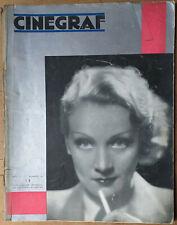 MARLENE DIETRICH, Cinegraf Magazine, #13, April 1933