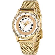 Orologio donna Galliano NOUVEAU R2553104501 bracciale acciaio pvd gold bracciale