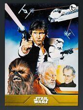 Star Wars Card Trader Gold 40th Anniversary New Hope Showcase - Han Solo