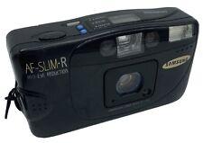 VINTAGE SAMSUNG AF-slim-R 35mm Obiettivo Fotocamera 35mm f/3.5 Custodia