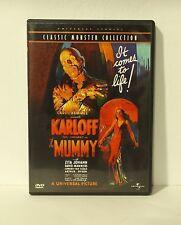 The Mummy (DVD, 1999, Collectors Edition) Boris Karloff mint disc with insert