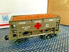 Lionel ore car custom repainted with the US Army MASH 4077 name