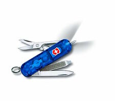 Victorinox Signature Lite Translucent Sapphire Swiss Army Knife - Switzerland
