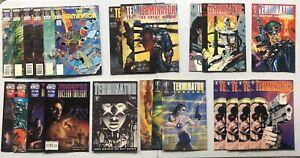 The Terminator 25+ Book Lot Now Comics Malibu Marvel Dark Horse SCHWARZENEGGER