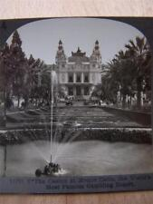 Stereoscope Photograph The Casino At Monte Carlo